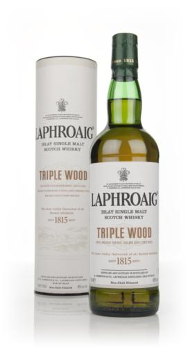 Laphroaig Triple Wood Islay whisky review tasting notes
