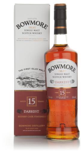 Bowmore 15 Year Old Darkest Islay Whisky