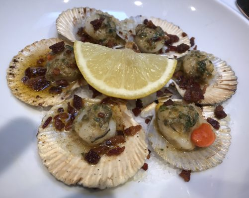 Randall and Aubin Manchester Restaurant Review Seafood and Oyster Bar Blog Post